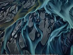 Other worldly: The Thjorsá River in Iceland, 2012 http://www.edwardburtynsky.com/site_contents/Photographs/Water.html