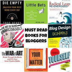Must Read or Most Wanted Books for Bloggers