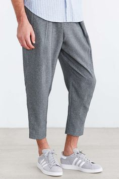Your Neighbors Keris Pleated Cropped Pant