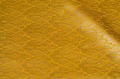 Mustard and gold benaras brocade #brocade #fabrics #india #textile #prints #patterns #blouse #saree