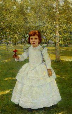 Robert Reid (1862-1929) The Red Flower