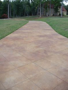 Stained Concrete Patio | Db_acid_stained_broomed_finished_concrete1