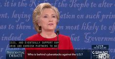 Hillary Claims She'll Increase Cyber Security After Illegal Home Server Was Hacked: Debate Highlight