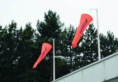More examples of our fantastic, branded windsocks. Flags, Banners, Things To Come, Outdoor Decor, Banner, National Flag, Posters, Bunting