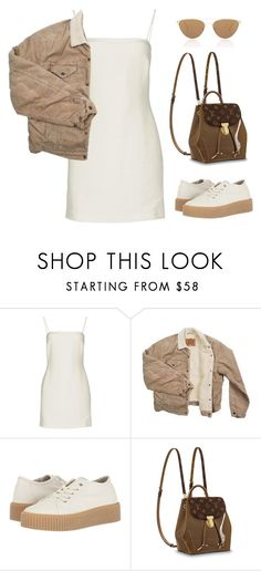 """Untitled #5949"" by lilaclynn ❤ liked on Polyvore featuring Bec & Bridge, Levi's, MM6 Maison Margiela, Oliver Peoples, louisvuitton and MaisonMartinMargiela"