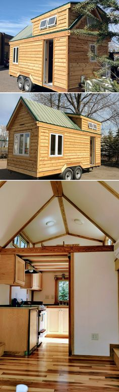 The Breathe Easy is a non-toxic tiny house built by Tiny Green Cabins. The Minnesota-based company uses carefully selected materials to create an environment suitable for those with chemical sensitivities.