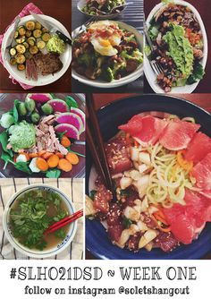 Follow my #21DSD on instagram for meal inspiration! :)