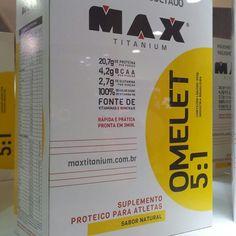 Lançamento da @MaxTitaniumSuplementos, chegando na #MegaVitaminas