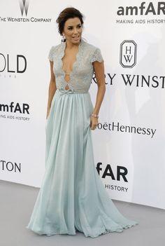 El verde-impacto de Irina Shayk y más detalles de la Gala AmfAR Cannes 2015