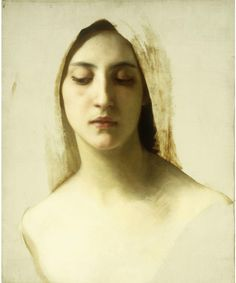 Study for 'La charite' -- by William Adolphe Bouguereau (1825-1905 French); via leprocrastinateur: