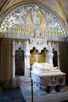 Tomb of King Bela III, Matthias Church, Budapest
