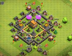 TH5 Trophy Base Town Hall 4, Trophy Base, Clash Of Clans Game, Th 5, Clash Royale, Games, Books, Libros, Book