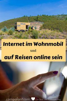 Du willst wissen, wie man das Problem mit dem Internet im Wohnmobil lösen und wie man auf Reisen online sein kann? Wir zeigen dir, wie du auch auf Reisen gutes, bezahlbares mobiles Internet haben kannst.  Die verschiedensten Möglichkeiten stellen wir vor und zeigen dir zugleich, wie wir unterwegs online gehen und dabei noch weniger bezahlen, als in Deutschland. Es war noch nie so einfach mobiles Internet zu haben. Camping Life, Camping Hacks, Mobiles Internet, Land Rover Defender, Caravan, Travel Tips, Travel Hacks, Computer Tips, Road Trips