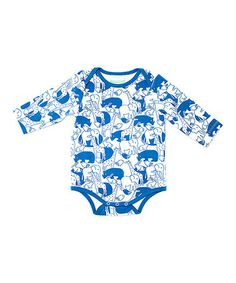 Another great find on #zulily! Teal Zoo Organic Bodysuit - Infant by Nohi Kids #zulilyfinds