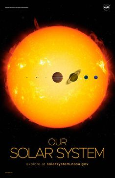 'Solar system - NASA: Solar System and Beyond posters ⛔ HQ-quality' Poster by DJ Alex Aveel Solar System Exploration, Space Solar System, Solar System Poster, Planetary System, Solar System Planets, Our Solar System, Space Exploration, Space Print, Carl Sagan