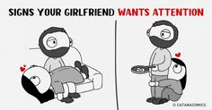 9 Charmingly Funny Comics About How We Behave When in Love