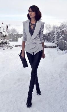 Tago in Blazers 1  Zara in Shirt / Blouses 2  Zara in Pants 3  Topshop in Jewelry