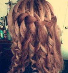 Waterfall braid!