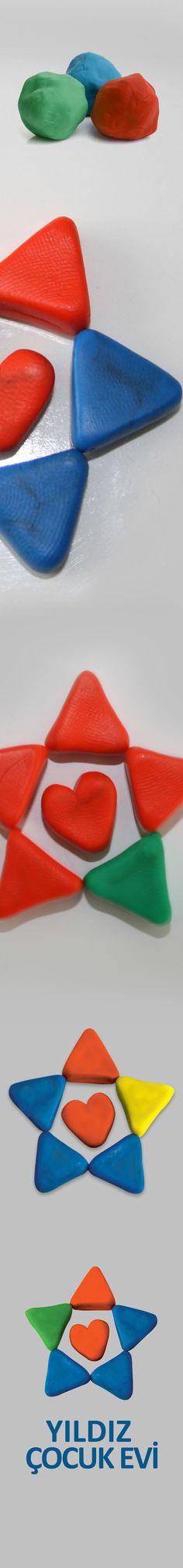 yıldız çocuk evi logo tasarımı / atezer