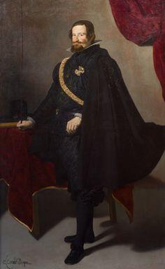 Conde Duque de Olivares, Diego Velázquez