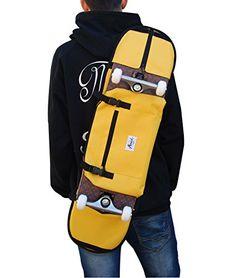 Backpack, shoulder bag for 7.5 and 8.5 inches skateboard.... https://www.amazon.com/dp/B01EJQ7A6W/ref=cm_sw_r_pi_dp_U_x_vKanAbAG5HDSZ