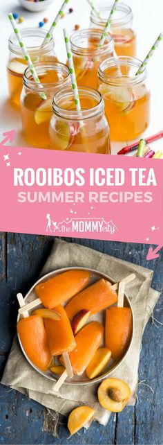 A selection of rooibos iced tea recipes for the hot summer days ahead and free pdf download