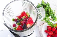 a simple way to clean your blender