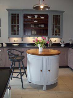 Chalon, Harrogate.  Designer Collection Aga Kitchen, Country Kitchen, Kitchen Islands, Grey Furniture, Furniture Design, New Kitchen Designs, Kitchen Ideas, Home Kitchens, Interior And Exterior