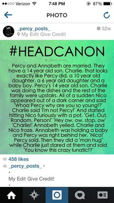 I'm laughing so hard! I never read Percy Jackson, but this is awesome Percy Jackson Head Canon, Percy Jackson Quotes, Percy Jackson Books, Percy Jackson Fandom, Magnus Chase, Solangelo, Percabeth, Percy And Annabeth, Annabeth Chase