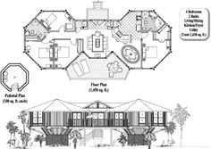 Classic Collection CM-0203 (1650 sq. ft.) 4 Bedrooms, 2 Baths