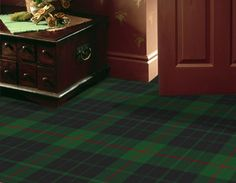 You can even have carpet made up in your clan tartan. This is Gunn Modern from Stevens & Graham rug specialists (www.tartanrugs.co.uk)