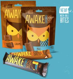 AWAKE Caffeinated Chocolate - humm this and coffee and I could fly!...this and mate and I would be locked up !!! :-)
