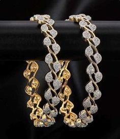 White cubic zirconia bangles-and-bracelets Gold Plated Bangles, Silver Bangles, Sterling Silver Bracelets, Sterling Silver Pendants, Silver Rings, Diamond Bracelets, Bangle Bracelets, Pandora, Bridal Bangles
