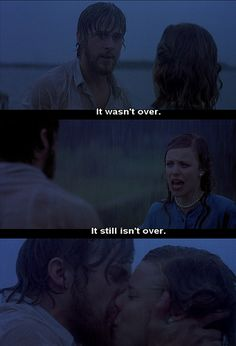 My favorite part of The Notebook Love Movie, Movie Tv, Perfect Movie, Movie Scene, The Notebook Quotes, Favorite Movie Quotes, Favorite Things, Chick Flicks, Movie Lines
