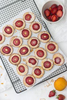 Orangen-Erdbeer-Kekse - DAS Sommerparty-Mitbringsel