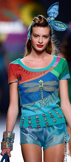 Desigual Spring-Summer 2015 Ready-To_Wear