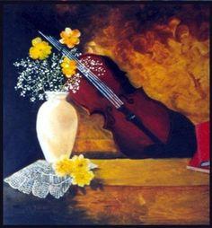 Resultado de imagen para pinturas violin