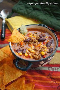 moje pasje: Zupa meksykańska