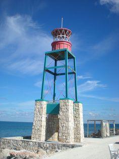 #Lighthouse in Coco Cay, #Bahamas http://dennisharper.lnf.com/