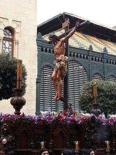 Semana Santa. CRUCIFIXIÓN, Malaga  Happy Easter