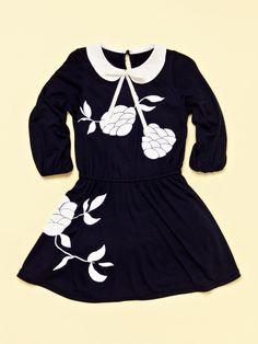 Velvet Print Dress by beetlejuice on Gilt.com