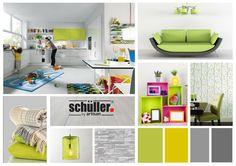 Contemporary Design Mood Board Light Colours   Schuller By Artisan #