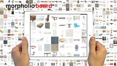 Morpholio Board is about to change the interior design game with its ability to let designers, architects, photographers, artists, and other creatives lay out mood boards, design ideas, and collages with a library of over 1000 of the top designs from the likes of giants like Herman Miller, Knoll, Porcelanosa, 3Form, Artek, and smaller firms like Volk and Uhuru.