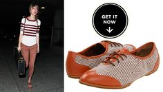 Taylor Swift rockin the Cole Haan Kody Oxford.