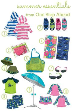 Check out TheShoppingMama.com's top 10 Sun Smarties' Summer Essentials for fun in the sun!