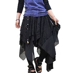 Hippies Women's Damage Crush Zommbie Dress Skirt, Medium, Black -- Want to know more, click on the image.