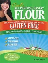 Carol's All Purpose Pastry Flour GF: Apparently this is really good gluten free flour and I should try it.