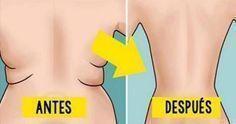 Bajas rollitos de la espalda