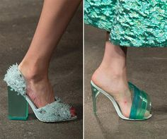 15 Unique Fashion Accessories from NYFW Spring 2015: Christian Siriano Shoes #accessories #shoes