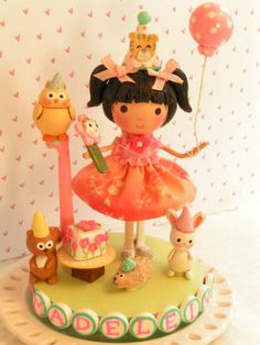 A Sweetiepie Cake Topper Woodland  1st by SweetiePieCaketopper, $130.00